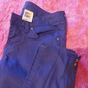 Low waist skinny ankle jeans